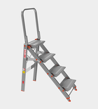 MARCHETTI Ladder - Stool With parapet