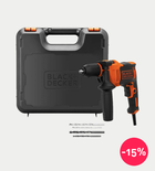 Black+Decker 710W Single Gear Hammer Drill
