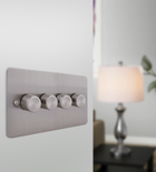 A&T 4 Gang Dimmer 3mm